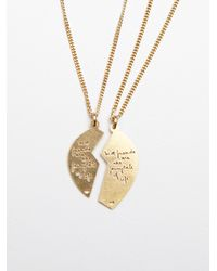 Free People - Metallic Laurel Denise Womens Best Friends Necklace - Lyst
