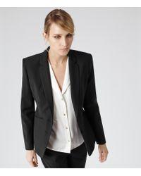 Reiss - Black Sorrento Slim Fit Blazer - Lyst