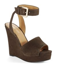 Nine West | Gray Leighann Wedges | Lyst