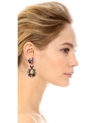 Erickson Beamon - Multicolor Cosmic Code Teardrop Earrings Pink Multi - Lyst
