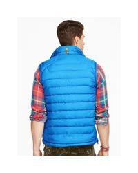 Ralph Lauren - Blue Water-repellent Down Vest for Men - Lyst
