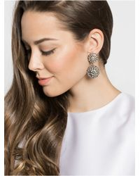 BaubleBar - Metallic Clip-on Crystal Dandelion Drops - Lyst