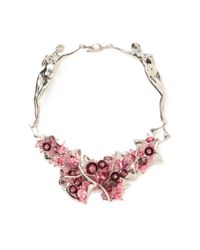 Heaven Tanudiredja | Pink Two Bodies Necklace | Lyst
