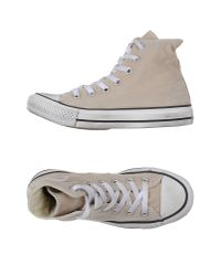 Converse | Natural High-tops & Trainers | Lyst