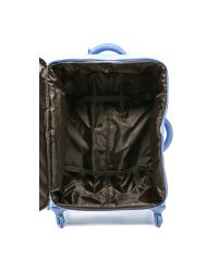 "Lipault | Blue 4-wheeled 28"" Packing Case - Azure 