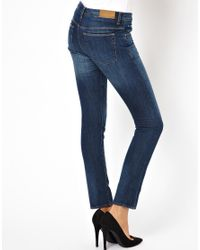 IRO | Blue Stonewashed Skinny Jeans | Lyst