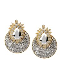 Shourouk - Metallic Earrings - Lyst
