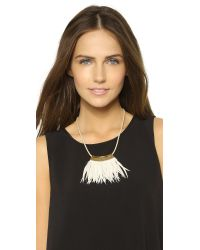 Fiona Paxton | Metallic Shamen Necklace - Gold | Lyst