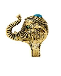 House of Harlow 1960 | Metallic Elephant Prosperity Ring | Lyst