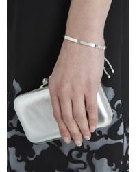 Monica Vinader | Metallic Fiji Friendship Bracelet | Lyst