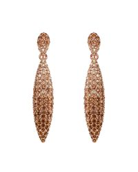 Caroline Creba - Metallic Gradient Crystal Earrings - Lyst