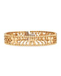 Roberto Coin | Metallic 18K Rose-Gold Butterfly Bracelet | Lyst