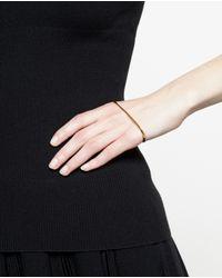 Bijules - Metallic Gold Handlet - Lyst