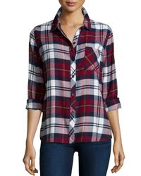 Rails - Red Hunter Plaid Long-sleeve Shirt - Lyst