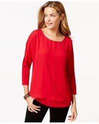 Style & Co. | Red Only At Macy's | Lyst