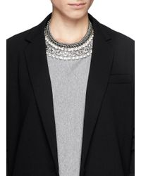 Venessa Arizaga - Metallic 'disco Queen' Necklace - Lyst