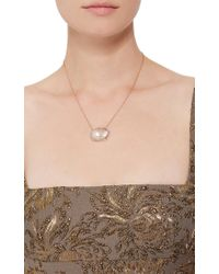 Jordan Alexander - Pink One Of A Kind 18k Rose Gold Diamond And Pearl Necklace - Lyst
