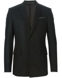 Givenchy - Black Classic Fitted Blazer for Men - Lyst