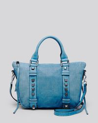 She + Lo - Blue She + Lo Satchel - Breakthrough Mini - Lyst
