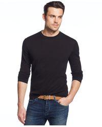 Michael Kors | Black Long-Sleeve T-Shirt for Men | Lyst