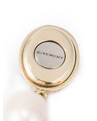 Givenchy   Black Faux Pearl Drop Earrings   Lyst