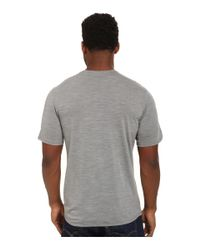 Patagonia | Gray Merino Daily T-shirt for Men | Lyst