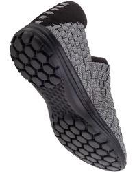 Bernie Mev   Metallic Victoria Sneaker Pewter Fabric   Lyst