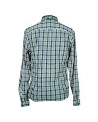 Guess - Green Shirt for Men - Lyst