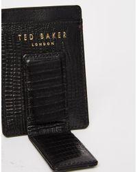 Ted Baker - Black Wallet & Cardholder Gift Set for Men - Lyst