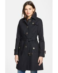 Pendleton - Black 'pacific Crest' Single Breasted Trench Coat - Lyst