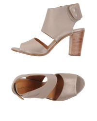 Lemarè - Gray Sandals - Lyst