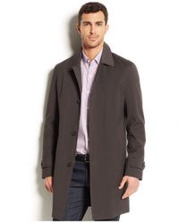 Michael Kors | Gray Michael Dalton All-weather Raincoat for Men | Lyst