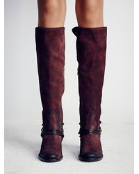 Free People | Purple Coal Tall Boot | Lyst