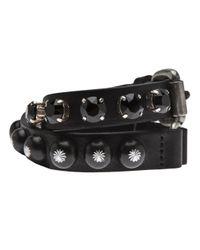 Ronald Pineau - Black Double Bracelet - Lyst