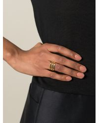 Maria Black | Metallic 'trinity' Ring | Lyst