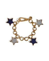 Marc By Marc Jacobs | Gray Starry Charm Bracelet | Lyst