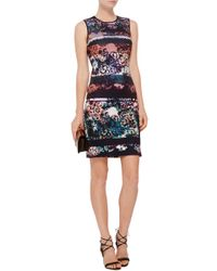 Clover Canyon | Multicolor Floral Filter Sheath Dress | Lyst