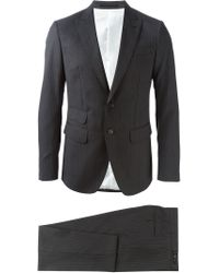 DSquared² - Gray Pinstripe Suit for Men - Lyst