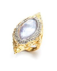 Alexis Bittar | Metallic Maldivian Feathered Ring | Lyst