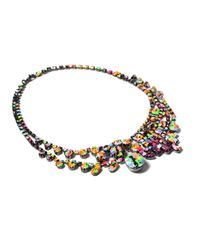 Tom Binns - Blue Midnight Riot Necklace - Lyst