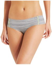Under Armour - Gray Pure Stretch Cheeky Brief - Lyst