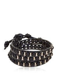Colana - Black Lava Bracelet - Lyst
