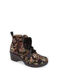 Alegria | Metallic Eliza Paislwy-Print Ankle Boots | Lyst