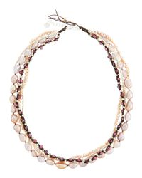 Nakamol - Multicolor Multi-Strand Pearl Necklace - Lyst