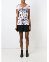 Philipp Plein - Pink 'simply Plein' T-shirt - Lyst