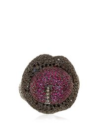 Lydia Courteille - Red Erotic Ruby Ring - Lyst