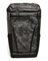 The North Face - Gray 'kaban Transit' Water Repellent Backpack for Men - Lyst