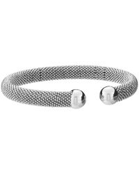 Fossil | Metallic Ball Shot Wrap Bracelet | Lyst