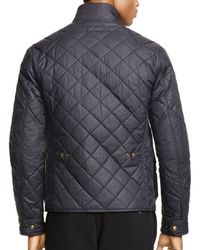 Ralph Lauren | Black Polo Quilted Bike Jacket for Men | Lyst