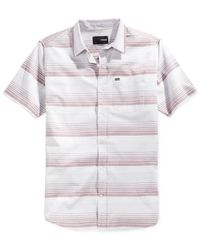 Hurley | Natural Troop Short-sleeve Shirt for Men | Lyst